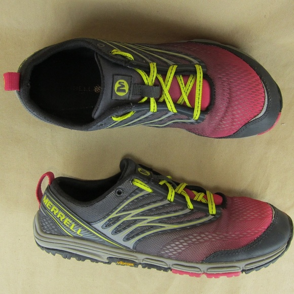 merrell mens trail glove 2 trail running shoe oil